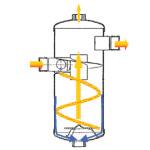 Hygromatik DDS - Tlakový parní zvlhčovací systém - separátor typ A a typ C