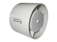 Plastový ventilátor 100 mm / 230 - 24 V pro přívod-odvod vzduchu